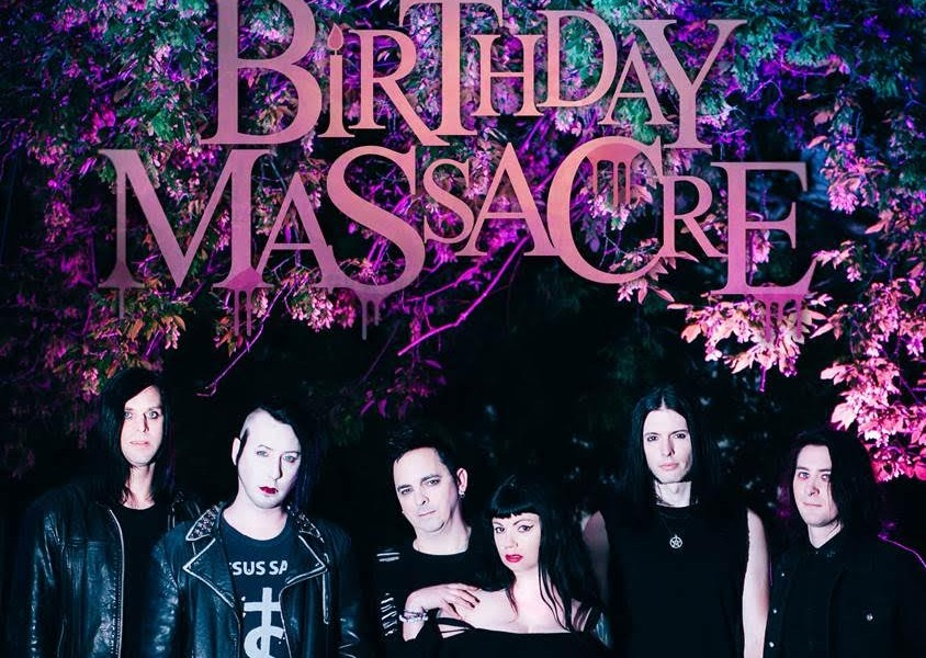 The Birthday Massacre Under Your Spell Uk Tour Engine Rooms
